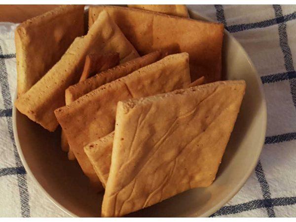 Krekeri od bademovog brašna