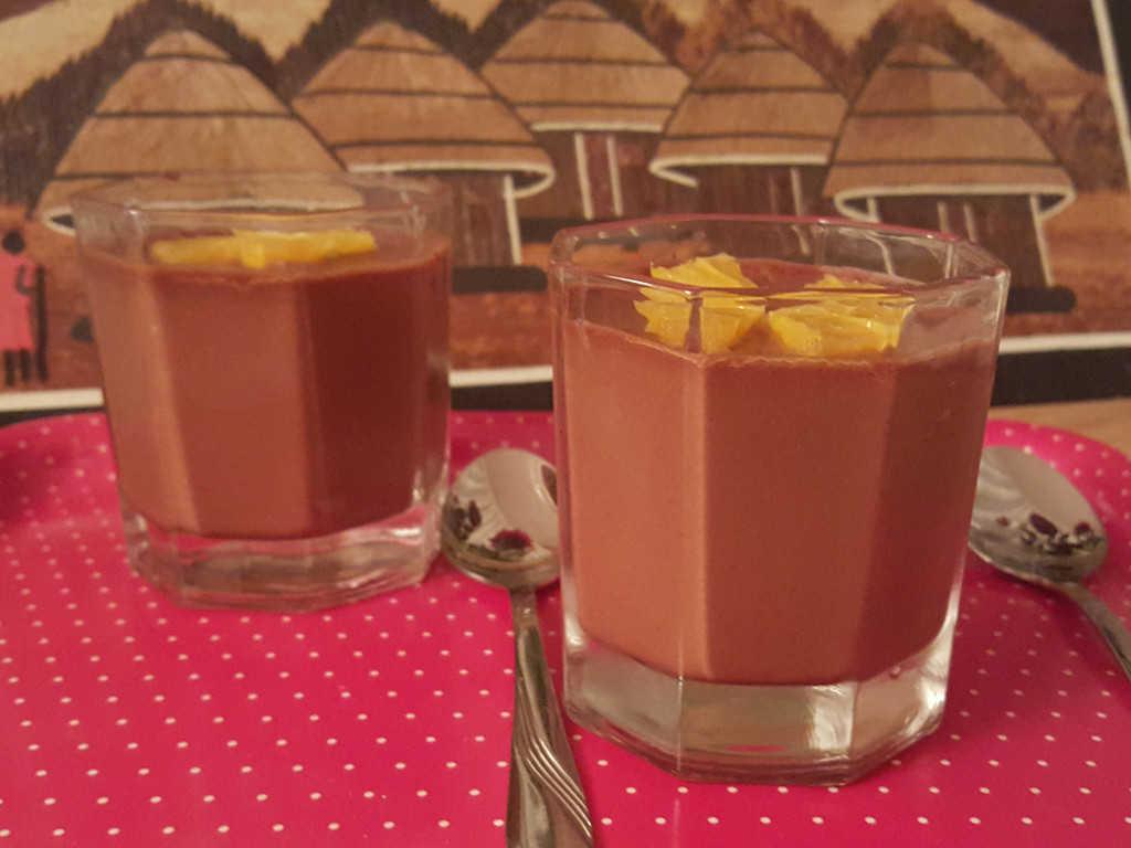 Mousse od čokolade i naranče