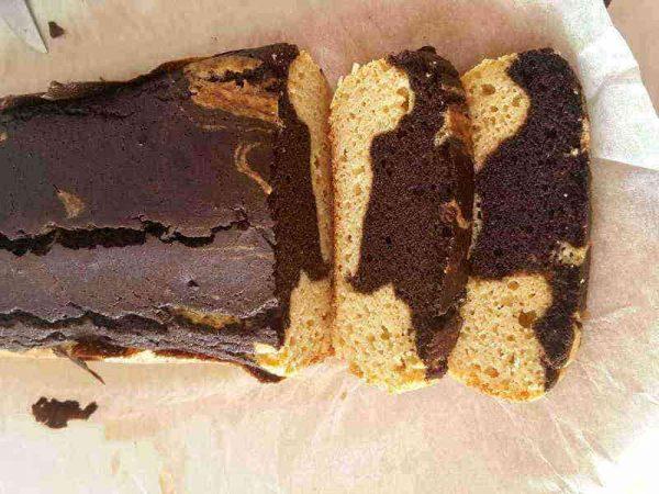 Paleo mramorni kolač
