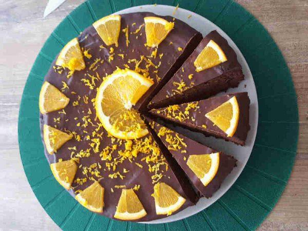 paleo torta od naranči i mljevenih badema